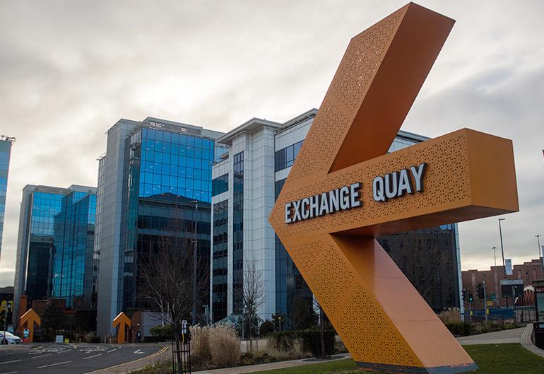 ExchangeQuay Aluminium Installation